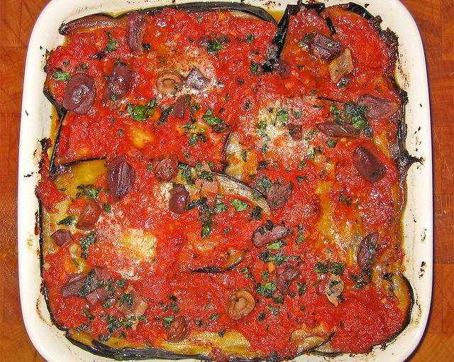 Włoskie potrawy i także nasze polskie mięso sezonowane
